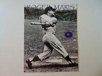 """NY Yankees"" Roger Maris Piece of his Game Worn Uniform Todd Mueller COA"