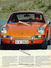 PORSCHE - 911t-COUPE - 1971-pubblicità con loghi pubblicità-Genuine Advertising-NL-commercio di spedizione