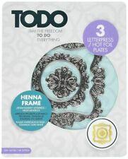 Todo Heena Frame - 3  Letterpress Hot Foil Plates Foiling Papercraft