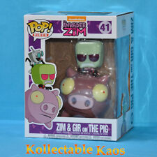 Invader Zim - Zim & GIR on The Pig Pop! Rides Vinyl Figure (RS)
