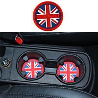 Car Cup Mat Pad Coaster Gel Silicone Car Anti-Slip Cup Mat For Mini CooperHP Nw