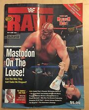WWF WRESTLEMANIA 12 - OFFICIAL ARENA SOUVENIR PROGRAM - WWE Rare - WM12