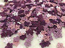 20pcs Random Colour Flower Venise Lace Embroidery Applique Motif Earring 15*15mm