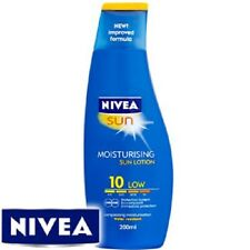 Nivea Moisturising Sun Lotion: Factor 10, Ideal Perfect for holiday camping