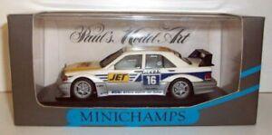 Minichamps 1/43 Scale 3120 Mercedes 190 E Evo 2 MS-JET Biela #16