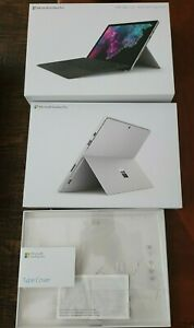 Microsoft Surface Pro 6 + Microsoft Surface Pro Type Cover EMPTY BOX NO PRODUCTS