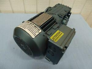 SEW-EURODRIVE Severe Duty Motor WAF30DT71K4-KS, TEFC 3PH, 230/460V, 60Hz, 0.2...