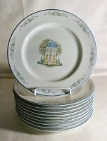 "10 The Lenox Village 8 1/4"" Salad Plates"