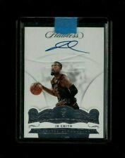 J.R. Smith 17-18 FLAWLESS AUTOGRAPHS #/25 ON-CARD Auto Cleveland Cavaliers SWISH