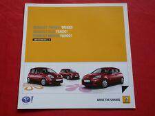 """RENAULT TWINGO CLIO modalità """"Yahoo!"""" speciale modelli prospetto di 2011"""