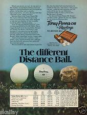 1977 Print Ad of Rawlings Toney Penna DB Golf Ball