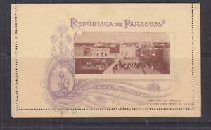 PARAGUAY, Letter Card., 4c. New Year, unused.