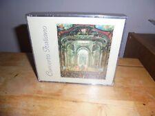 "Various ""Concerto Italiano"" 2 CD BEST WESTERN PROMO MUSICA 2 ITA 1999 - SEALED"