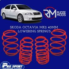ProSport 40mm Lowering Springs for Skoda Octavia Mk2 Authorised Dealer 120882