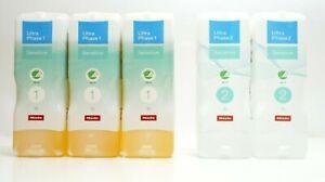 Miele Ultra Phase Wasch Mittel Set TwinDos mit 3x UltraPhase 1 & 2x UltraPhase 2