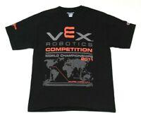 Vintage VEX Robotics World Championship 2011 Orlando, Florida T-Shirt Size Med.