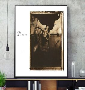 Surfer Rosa (Remastered) (by Pixies) Album Cover Poster Professional Grade Print