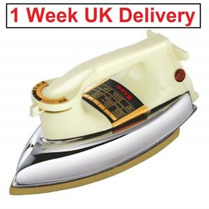 Heavy Weight Japanese Technology 1000 W Automatic Dry Iron (White) Fast Shipping