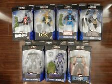 Avengers: Endgame Marvel Legends Wave 2 Set of 7 Figures (Hulk BAF)