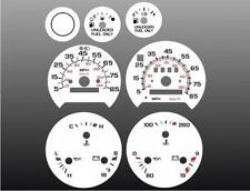 1974-1996 Chevrolet Van Dash Cluster White Face Gauges G10 G20 G30 74-96