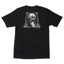 Santa Cruz Jason Jessee DOLLAR Skateboard T Shirt BLACK LARGE