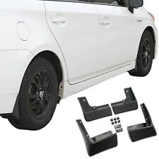 fits Toyota Prius Mud Flaps 10-15 Mud Guards Splash Molded 4 Piece Front & Rear