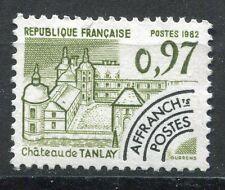 FRANCE TIMBRE   PREOBLITERE  N° 174  OBL   CHATEAU DE TANLAY YONNE
