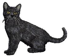 Black Cat Applique Patch (Iron on)