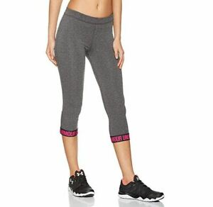 Under Armour Women's Favorite Word Mark Pants (Power in Pink) X-SMALL