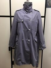 Margaret Howell S LAVENDER Cotton Lightweight Trench Jacket Coat MHL II