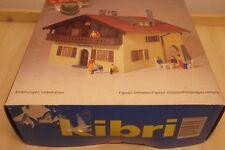 KIBRI H0 8058 CASA bichlberg Kit Construcción con instrucciones incl. figuras