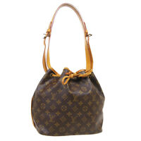 LOUIS VUITTON PETIT NOE DRAWSTRING SHOULDER BAG A28901 MONOGRAM M42226 A54061