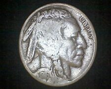 1916 INDIAN HEAD BUFFALO NICKEL #18249