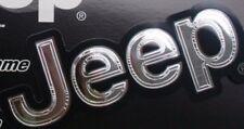Jeep decal sticker cj7 cj cj6 wrangler cherokeek auto suv mudder Mopar Chrysler