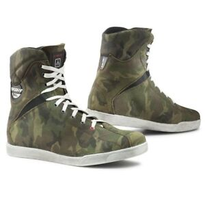 30% OFF TCX X-RAP Jungle Camo WP Leather Camouflage Motorcycle Ankle Boots/Shoes