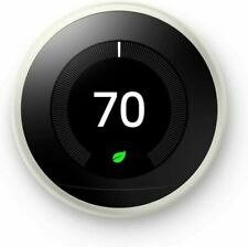 Nest Learning 3rd Generation Smart Thermostat - White