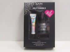 NYX Glitter Kid 3 Face & Body Glitter + Glitter Primer GLISET01 Brand New In Box