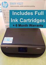 HP Envy 4524/4527 All-in-One Wireless Inkjet Printer + Full Inks