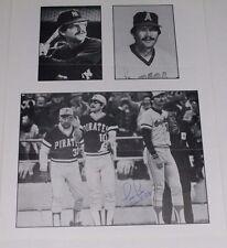 Signed TIM FOLI Pittsburgh Pirates WS Champs 1979 Autograph 8x10 Photo Page 16D