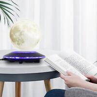 3D LED Magnetic Levitation Moon Lamp Globe Night Light Floating Moon Table Lamp