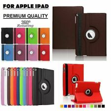 Luxury 360 iPad P Leather Case Cover Stand Fits Apple iPad Air A1474/A1475/A1566