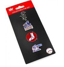 Chicago White Sox Logo Pin Set