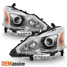 Fits 2013-2015 Altima 4DR Sedan Headlights Lamp Replacement Left+Right 13 14 15