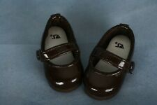 BJD Volks Official Yo Sd Doll Brown Shiny Shoes