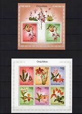 GUINE-BISSAU 2010 OUQUIDEAS ORCHIDEES FLOWERS FLEUR BLUMEN NATURE STAMPS MNH**