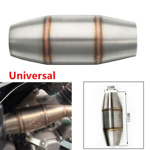 Stainless Expansion Chamber Tuned Exhaust Pipe Muffler For Motorcycle Dirt Bike