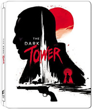 The Dark Tower (2017) (Steelbook) (UK IMPORT) BLU-RAY NEW