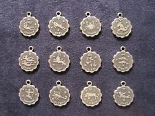 Zodiac Silver Charms - You pick your month - Horoscope Astrology Jewelry - NEW