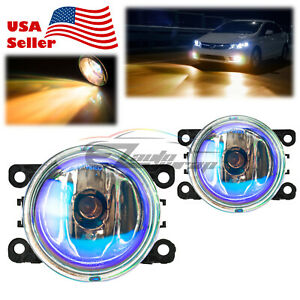 Pair Neo Lens Fog Light for Acura RDX TSX Upgrade Aftermarket OEM Replacement F6