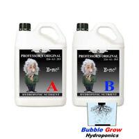 PROFESSOR'S ORIGINAL NUTRIENT 5L A&B SET GROW AND BLOOM HYDROPONIC NUTRIENTS